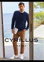 Prospectus Cyrillus : Collection Homme