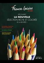 Prospectus France loisirs : Découvrez la nouvelle sélection riche et colorée de la rentrée!