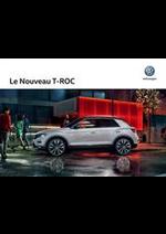 Prospectus Volkswagen : Le Nouveau T-ROC