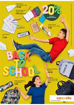 Prospectus Coop City : Back to school