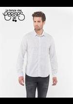Catalogues et collections Le temps des cerises : Chemises Homme