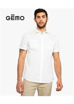 Prospectus Gemo : Collection Chemises / Homme