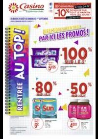Prospectus Supermarchés Casino FRESNES : Catalogue Casino Supermarchés