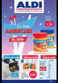 Prospectus Aldi Mont-de-Marsan : Le réve Americain