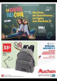 Prospectus Auchan Val d'Europe Marne-la-Vallée : La rentrée très cool
