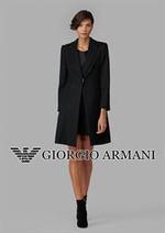 Catalogues et collections Armani : Women's Outerwear