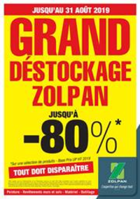 Promos et remises Zolpan HOUILLES : GRAND DESTOCKAGE ZOLPAN