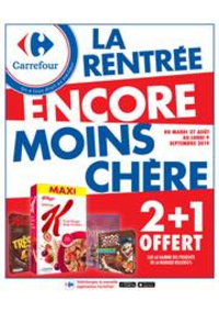 Promos et remises Carrefour GENNEVILLIERS : LA RENTRÉE ENCORE MOINS CHÈRE
