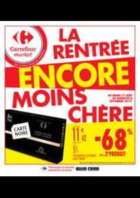 Promos et remises Carrefour Market NANTERRE : La rentrée encore moins chère 2
