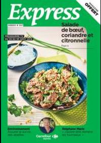 Journaux et magazines Carrefour Express PARIS 41 rue Damremont : Express Hebdo S34