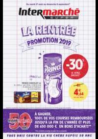 Prospectus Intermarché Super Villeneuve le Roi : LA RENTREE PROMOTION 2019