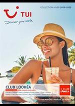 Promos et remises  : Brochure TUI Club Lookéa Hiver 2019/2020