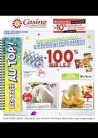 Prospectus Supermarchés Casino ASNIERES ZAC du métro - Ilot F : Catalogue Casino Supermarchés