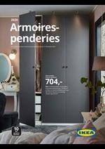 Prospectus IKEA : Garde robes 2020