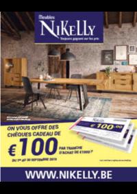 Bons Plans Meubles Nikelly : Chèques Cadeau de 100€