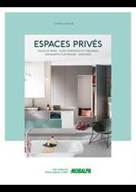 Catalogues et collections Mobalpa : Catalogue ESPACES PRIVEES