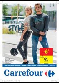 Prospectus Carrefour JAMBES : Une rentrée avec style
