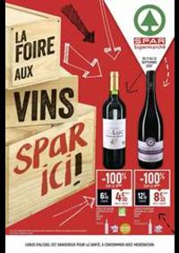 Promos et remises Spar PONTARLIER : La foire aux vins spar ici!
