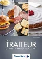 Carte Traiteur Automne/Hiver - Carrefour
