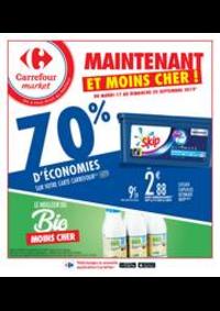 Prospectus Carrefour Market Thonon-les-Bains - Avenue Jules Ferry : 2 +  1 OFFERT