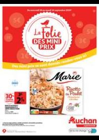 Prospectus Auchan Supermarché Paris 12 Reuilly : La folie des mini prix