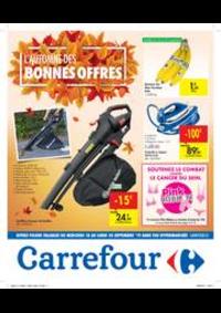 Promos et remises Carrefour : L'automne des bonnes offres
