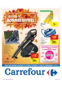 Promos et remises Carrefour TIENEN : L'automne des bonnes offres