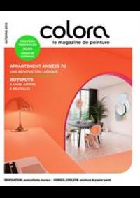 Prospectus Colora Sint-Pieters-Leeuw : Magazine de Peinture