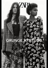 Prospectus ZARA AULNAY SOUS BOIS : Zara Grunge attitude
