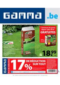 Promos et remises GAMMA UCCLE : Gamma Acties