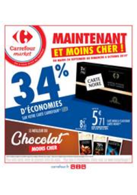 Prospectus Carrefour Market MASSY : Maintenant et moins cher !