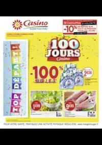 Prospectus Supermarchés Casino CHOISY LE ROI : Les 100 jours Casino