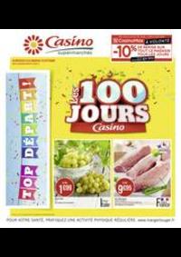 Prospectus Supermarchés Casino Les Lilas : Les 100 jours Casino