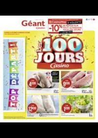 Prospectus Géant Casino BOISSY SAINT LÉGER : Les 100 jours Casino