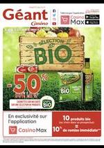 Prospectus Géant Casino : Sélection Bio