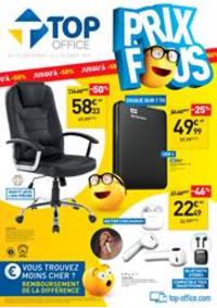 Prospectus Top Office Bondy : Prix fous