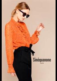Prospectus Sinequanone Paris 15eme : Nouvelle Collection