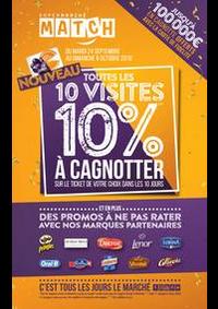 Prospectus Supermarchés Match Tourcoing Mercure : Toutes les 10 visites, 10% à cagnotter