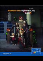 Prospectus Dreamland : Nightmare Depliant