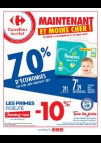 Prospectus Carrefour Market VAUX LE PENIL : Maintenant et moins cher !