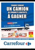 Prospectus Carrefour Drive : Chaque semaine un camion de produits a gagner