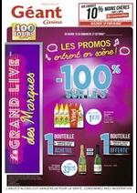 Prospectus Géant Casino : Les promos entrent en scène !