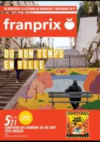 Prospectus Franprix DEUIL LA BARRE : Du bon temps en ville