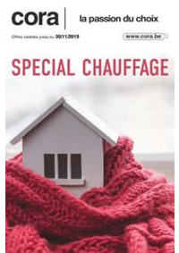Prospectus Cora ANDERLECHT : Chauffage