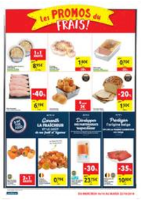 Promos et remises Carrefour Market : folder Carrefour Market