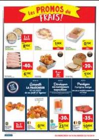 Promos et remises Carrefour Market DINANT : folder Carrefour Market