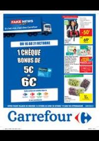 Prospectus Carrefour AUDERGHEM / OUDERGHEM : Fake news or not?