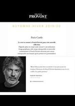Prospectus Franck Provost : Automne - Hiver 2019/20