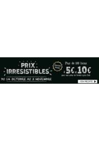 Prospectus Belgique Loisirs Charleroi : Prix Irresistibles
