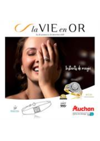 Prospectus Auchan Val d'Europe Marne-la-Vallée : La vie en Or